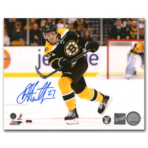 Dougie Hamilton Autographed Boston Bruins 8X10 Photo (Calgary Flames)