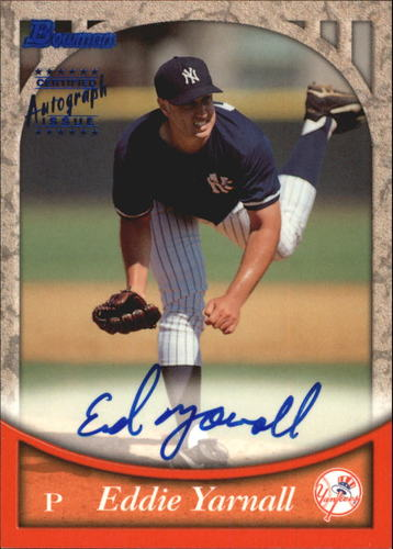 Photo of 1999 Bowman Autographs #BA17 Eddie Yarnall B
