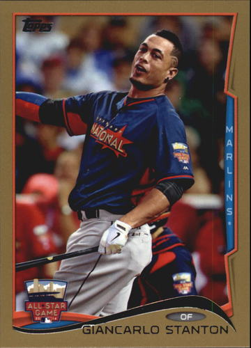Photo of 2014 Topps Update Gold #US238 Giancarlo Stanton
