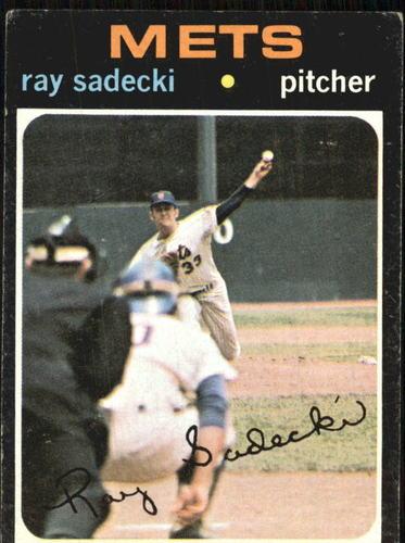 Photo of 1971 Topps #406 Ray Sadecki