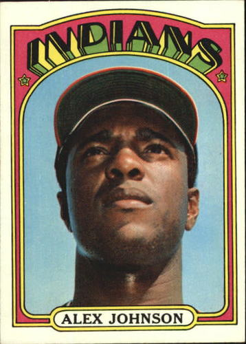 Photo of 1972 Topps #215 Alex Johnson
