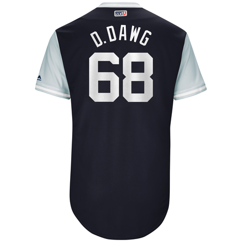 "Photo of Dellin ""D-Dawg"" Betances New York Yankees Game-Used Players Weekend Jersey"