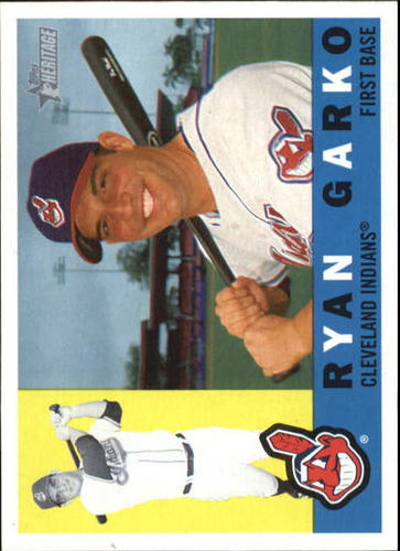Photo of 2009 Topps Heritage #75 Ryan Garko