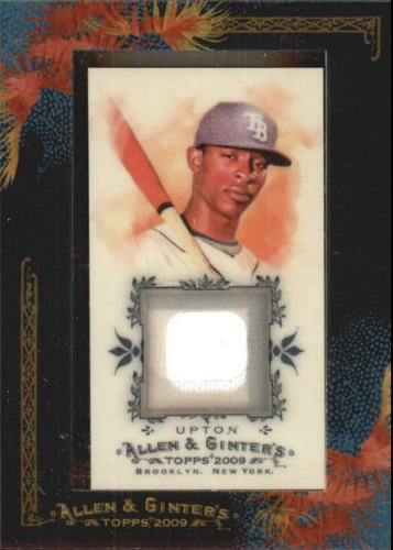 Photo of 2009 Topps Allen and Ginter Relics #BU B.J. Upton Jsy D