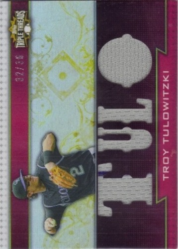 Photo of 2011 Topps Triple Threads Relics #TTR136 Troy Tulowitzki