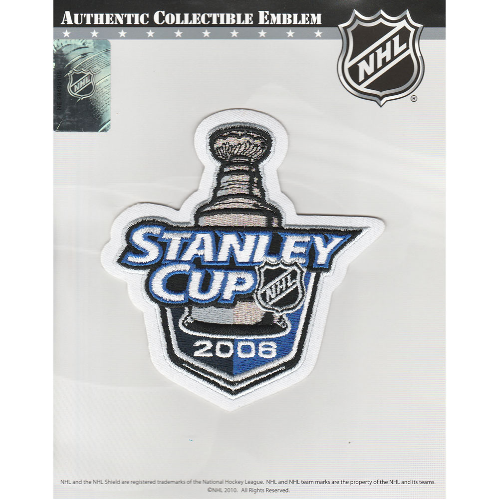 2008 NHL Stanley Cup Final Jersey Patch (Detroit Red Wings vs. Pittsburgh Penguins)