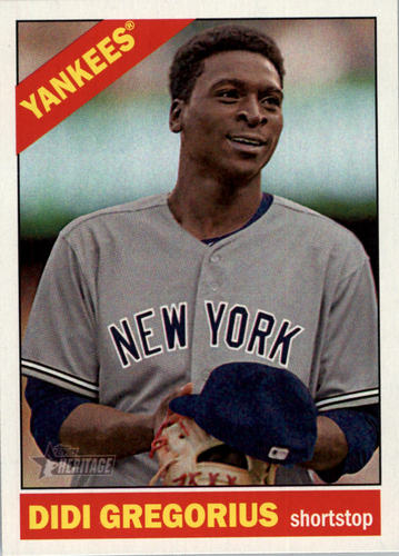 Photo of 2015 Topps Heritage #109 Didi Gregorius