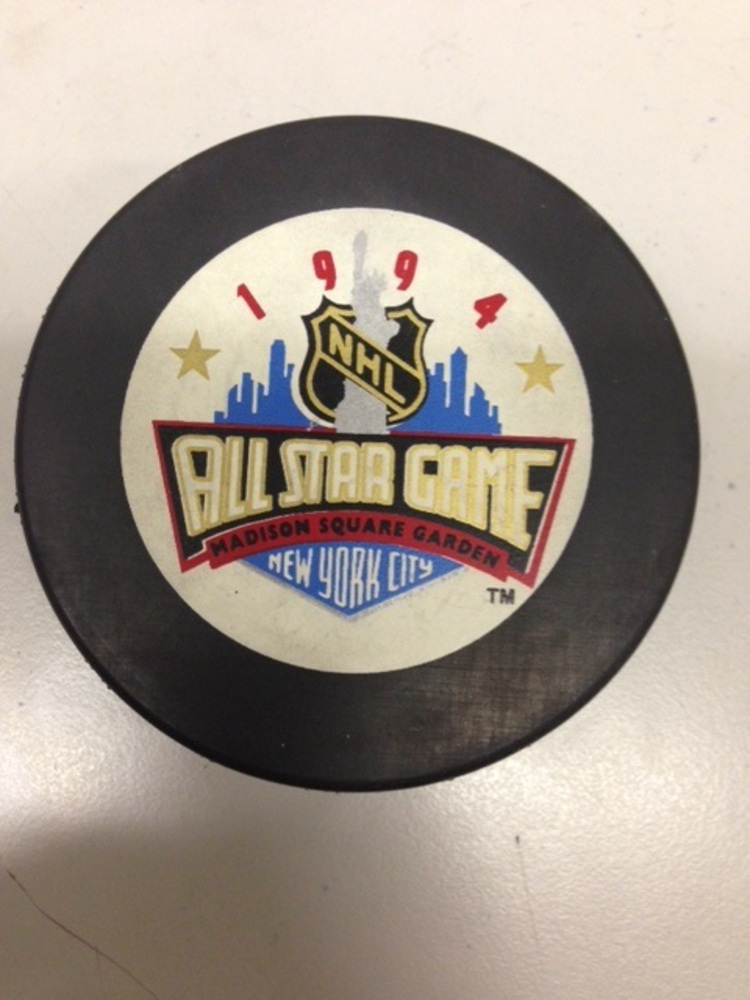 1994 NHL All Star Game Souvenir Puck