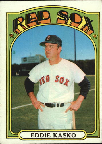 Photo of 1972 Topps #218 Eddie Kasko MG