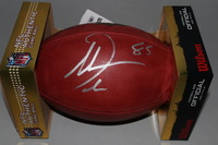 CHARGERS - ANTONIO GATES SIGNED AUTHENTIC FOOTBALL