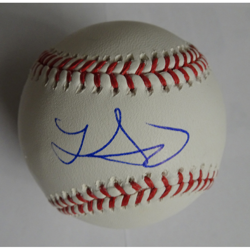 Photo of Lucas Sims Autographed Baseball