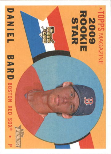 Photo of 2009 Topps Heritage #550 Daniel Bard RC