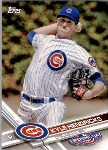 Photo of 2017 Topps Opening Day #11 Kyle Hendricks