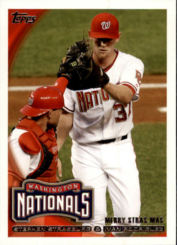 Photo of 2010 Topps Update #US274 Stephen Strasburg/Ivan Rodriguez