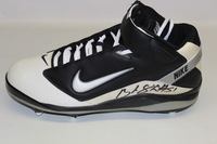 BILLS - BRANDON SPIKES SIGNED AND GAME ISSUED CLEAT