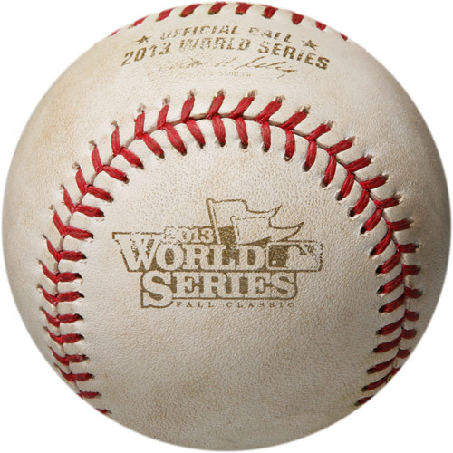 Photo of MLB Postseason Archive Auction: 2013 World Series Game 1 - Batter - Xander Bogaerts, Pitcher - Adam Wainwright, Bottom of 1st, Ball