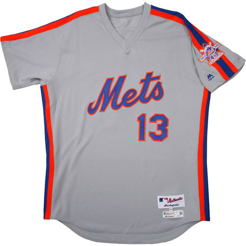 Photo of New York Mets 1986 Throwback Complete Game-Used Uniform Set - Asdrubal Cabrera