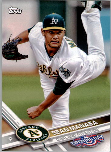 Photo of 2017 Topps Opening Day #154 Sean Manaea