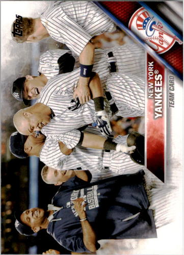 Photo of 2016 Topps #155 New York Yankees