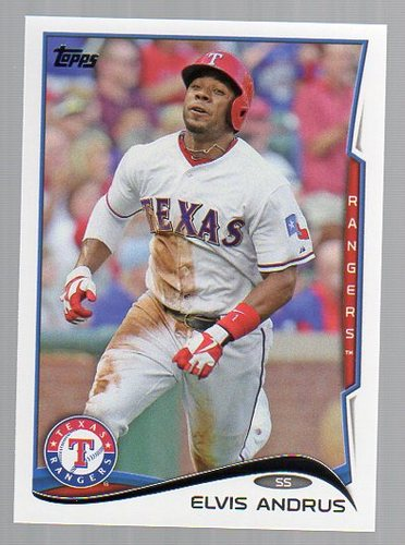 Photo of 2014 Topps #324 Elvis Andrus