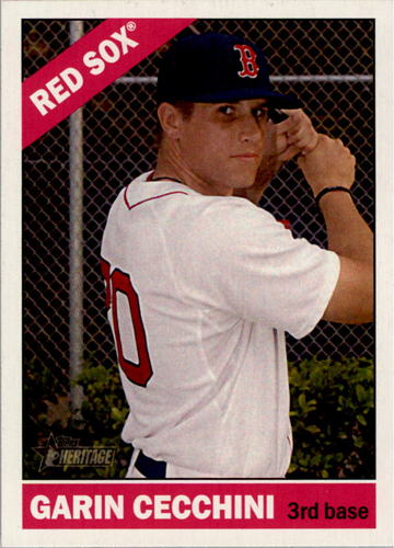 Photo of 2015 Topps Heritage #111 Garin Cecchini