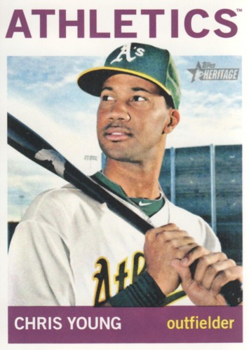 Photo of 2013 Topps Heritage #92 Chris Young