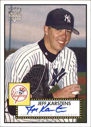 Photo of 2006 Topps 52 Signatures #JWK Jeff Karstens G
