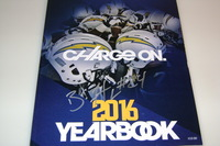 CHARGERS - BRANDON FLOWERS SIGNED 2016 CHARGERS YEARBOOK