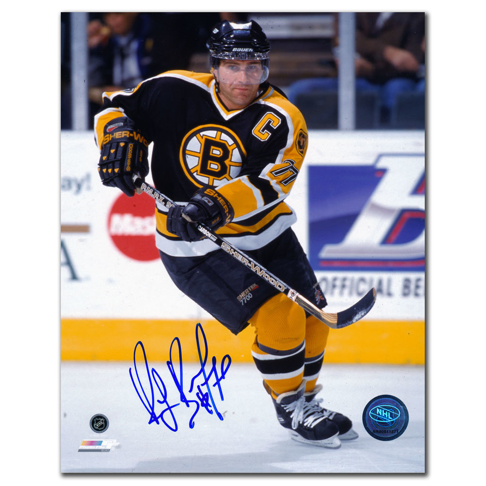 Ray Bourque Boston Bruins PASS Autographed 8x10