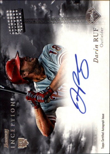 Photo of 2013 Bowman Inception Rookie Autographs #DR Darin Ruf