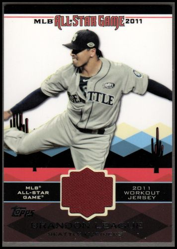 Photo of 2011 Topps Update All-Star Stitches #AS12 Brandon League