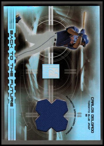 Photo of 2003 Donruss Elite Back to the Future Threads #9 Carlos Delgado