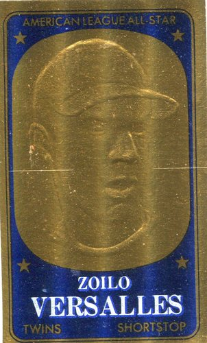 Photo of 1965 Topps Embossed #33 Zoilo Versalles