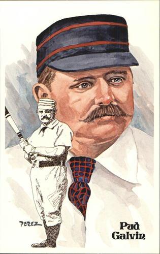 Photo of 1980-02 Perez-Steele Hall of Fame Postcards #102 Pud Galvin -- Set #08689