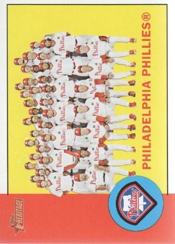 Photo of 2012 Topps Heritage #13 Philadelphia Phillies TC