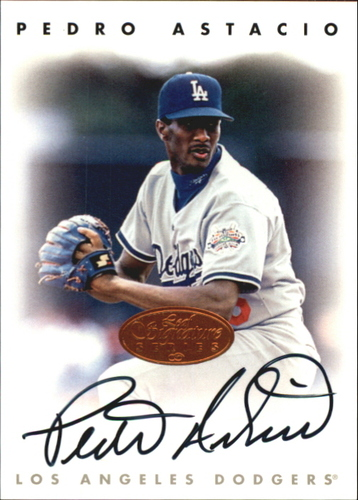 Photo of 1996 Leaf Signature Autographs #11 Pedro Astacio