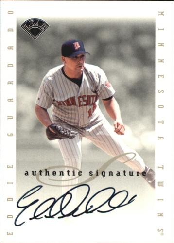 Photo of 1996 Leaf Signature Extended Autographs #65 Eddie Guardado