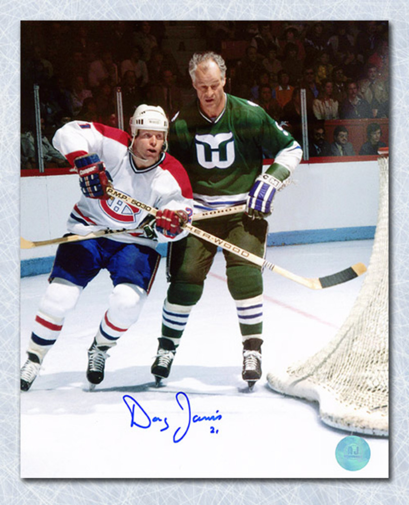 Doug Jarvis Montreal Canadiens Autographed 8x10 Photo