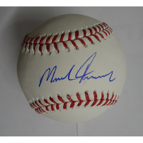 Photo of Mike Foltynewicz Autographed Baseball