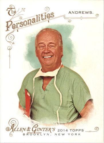 Photo of 2014 Topps Allen and Ginter #70 Dr. James Andrews