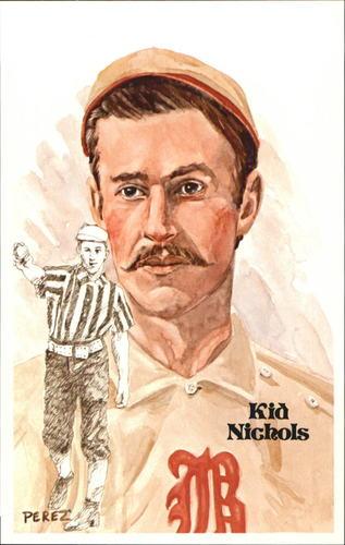 Photo of 1980-02 Perez-Steele Hall of Fame Postcards #58 Kid Nichols -- Set #08689