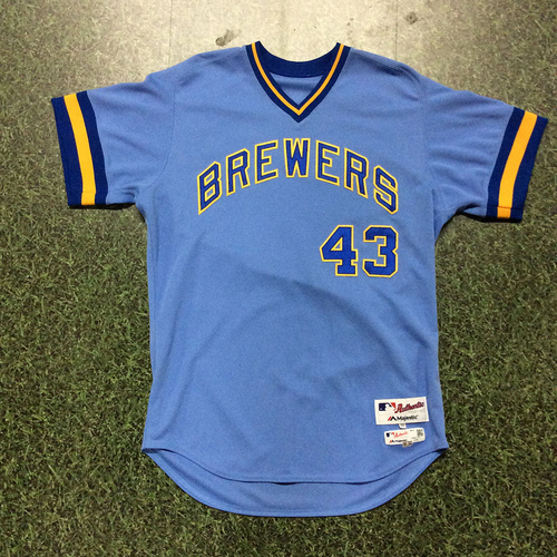 Lee Tunnell Team-Issued 1976 Throwback Jersey