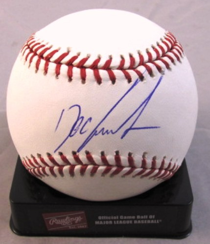 Photo of Dwight Gooden Autographed Baseball