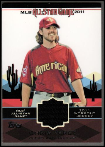 Photo of 2011 Topps Update All-Star Stitches #AS14 Chris Perez