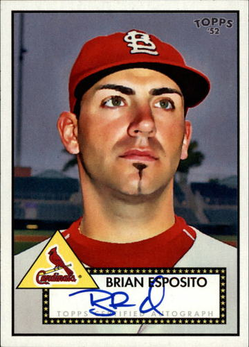 Photo of 2007 Topps 52 Signatures #BE Brian Esposito F