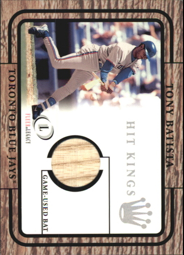 Photo of 2001 Fleer Legacy Hit Kings #2 Tony Batista