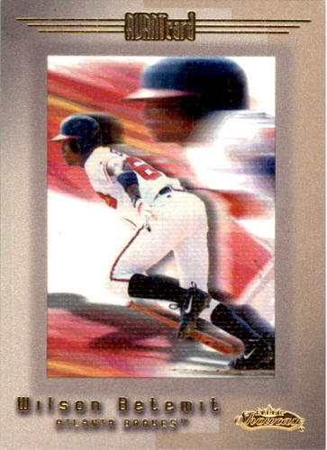Photo of 2001 Fleer Showcase #122 Wilson Betemit AC RC