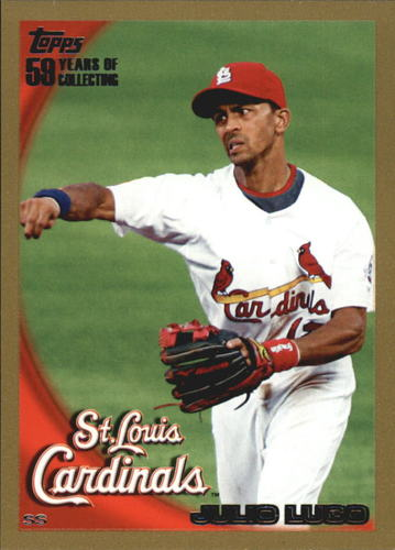 Photo of 2010 Topps Gold Border #325 Julio Lugo