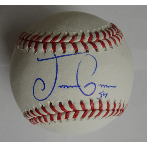 Photo of Jaime Garcia Autographed Baseball
