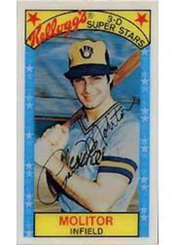 Photo of 1979 Kellogg's #20 Paul Molitor